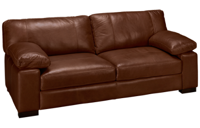 "Soft Line Dallas Leather 87"" Sofa"