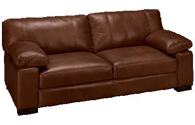 """Soft Line Dallas Leather 87"""" Sofa"""
