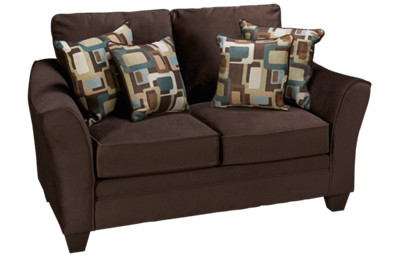 American Furniture Flannel Loveseat