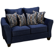 American Furniture Flannel Loveseat