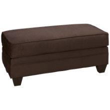 American Furniture Flannel Ottoman