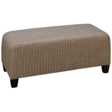 Flexsteel Winston Rectangle Cocktail Ottoman