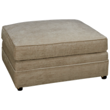 Huntington House Pit Ottoman with Casters