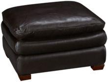 Futura Hogan Large Leather Ottoman