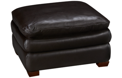 Futura Hogan Large Leather Ottoman