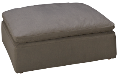 Synergy Peyton Ottoman with Slipcover