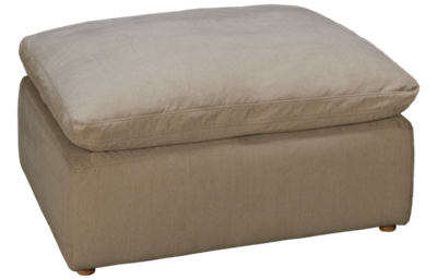 Synergy Equinox Ottoman with Slipcover