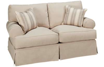 Synergy Montague Loveseat with Slipcover