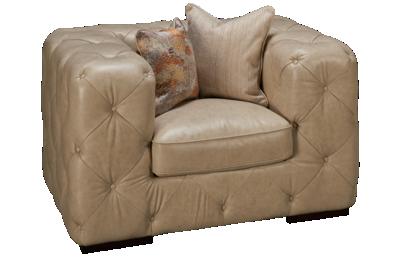 Simon Li Anjian Leather Chair & 1/2