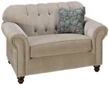 Klaussner Home Furnishings Sinclair Chair & 1/2