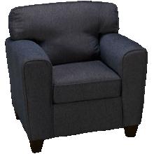Peak Living Pewter Chair