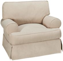 Synergy Montague Chair with Slipcover
