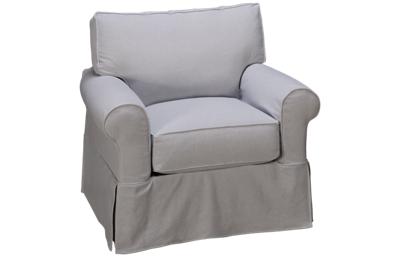 Rowe Nantucket Chair with Slipcover