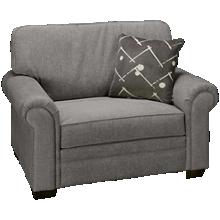 Klaussner Home Furnishings Ronaldo Chair & 1/2