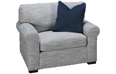 Kincaid Comfort Chair & 1/2 with Nailhead