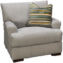 Klaussner Home Furnishings Gunner Chair & 1/2