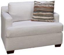Klaussner Home Furnishings Karalynn Chair & 1/2