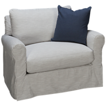 Rowe Aberdeen Chair & 1/2 with Slipcover
