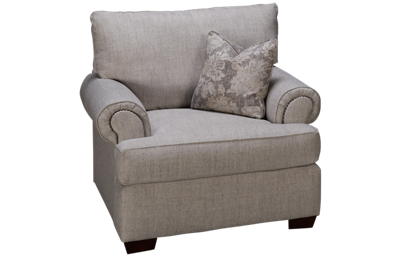 Klaussner Home Furnishings Ginger Chair & 1/2