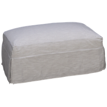 Rowe Aberdeen Ottoman with Slipcover