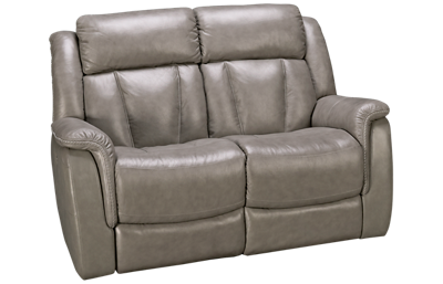 Futura Roswell Leather Power Loveseat with Power Headrest