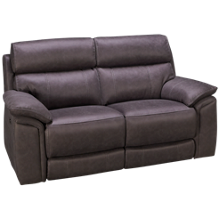 HTL Furniture Nash Power Loveseat Recliner with Tilt Headrest