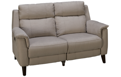 HTL Furniture Savannah Power Loveseat Recliner with Tilt Headrest