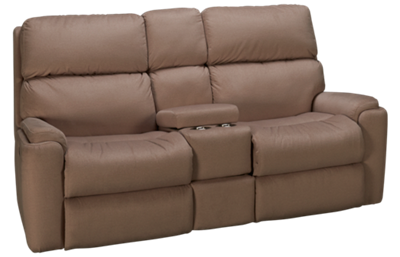 Flexsteel Rio Power Loveseat Recliner with Tilt Headrest