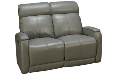 Futura Andros Leather Power Loveseat with Headrest