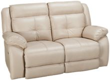 Futura Omega Leather Power Loveseat Recliner