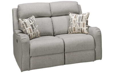 Synergy Granite Dual Power Loveseat Recliner with Power Headrest