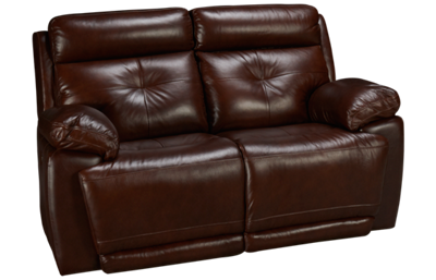 Futura Archer Leather Power Loveseat Recliner with Tilt