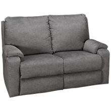 Klaussner Home Furnishings Moving Your Way Power Loveseat Recliner with Tilt Headrest and Lumbar