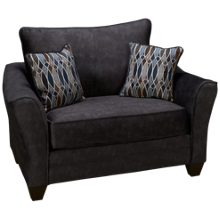 American Furniture Flannel Chair & 1/2