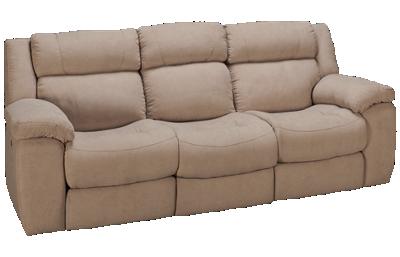HTL Furniture Camden Dual Power Sofa Recliner with Tilt Headrest
