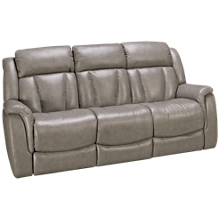 Futura Roswell Leather Power Sofa Recliner with Tilt Headrest