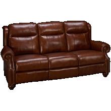 Era Nouveau Braden Leather Power Sofa Recliner with Power Tilt Headrest