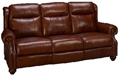 Era Nouveau Braden Leather Power Sofa Recliner with