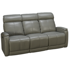 Futura Andros Leather Power Sofa Recliner with Tilt Headrest