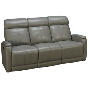 Futura Andros Leather Power Sofa Recliner with Headrest