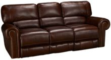 Era Nouveau Norton Leather Power Sofa Recliner