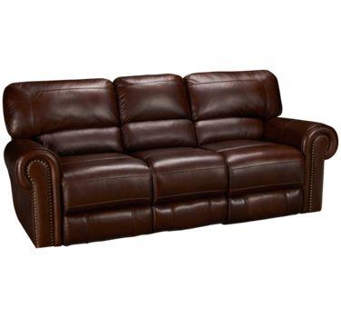 Era Nouveau-Norton-Era Nouveau Norton Leather Power Sofa Recliner ...