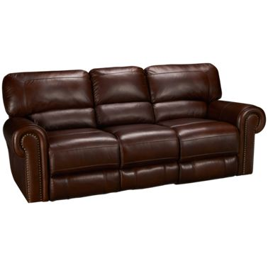 Era Nouveau-Norton-Era Nouveau Norton Leather Power Sofa Recliner ...
