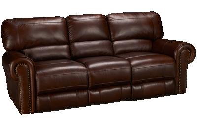 Era Nouveau Norton Leather Power Sofa Recliner