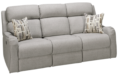 Synergy Granite Dual Power Sofa Recliner with Power Headrest