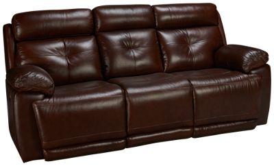 Futura Archer Futura Archer Leather Power Sofa Recliner With Power Tilt  Headrest   Jordanu0027s Furniture