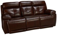 Futura Archer Leather Power Sofa Recliner with Power Tilt Headrest