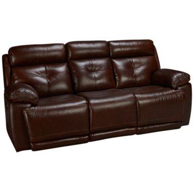 Futura Archer Leather Power Sofa Recliner with Power Tilt Headrest