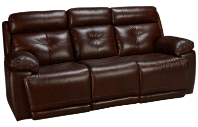 Futura Archer Leather Power Sofa Recliner with Tilt Headrest
