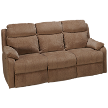 Klaussner Home Furnishings Solitaire Power Sofa Recliner with Tilt Headrest
